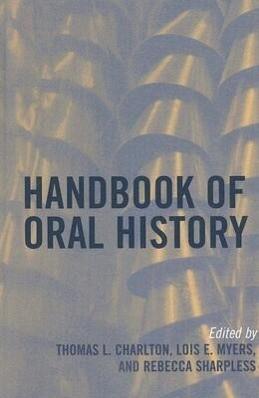 Handbook of Oral History als Buch