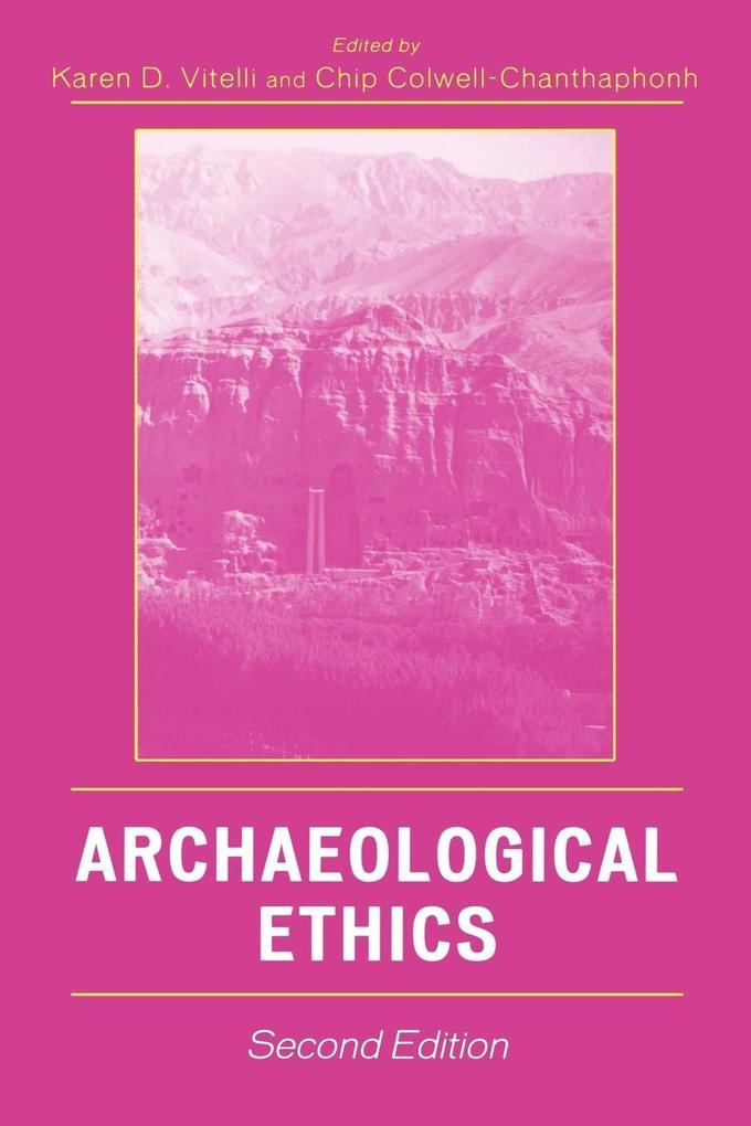 Archaeological Ethics als Taschenbuch