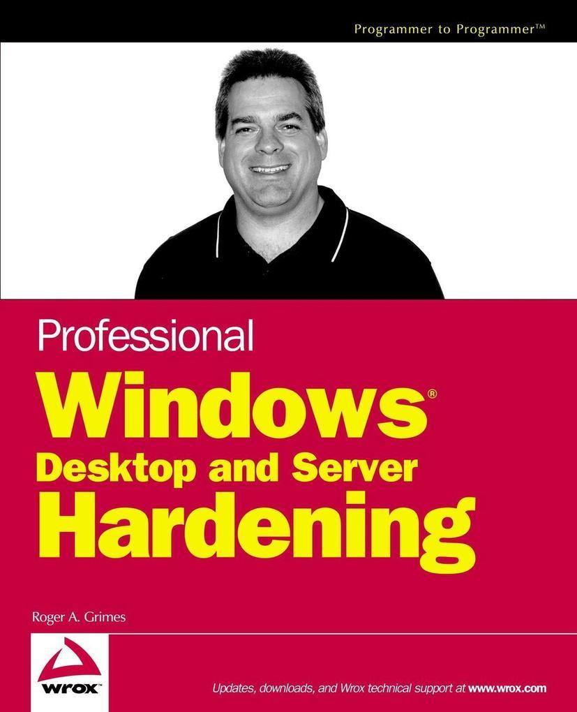 Prof Win Dsktop Hardening als Buch