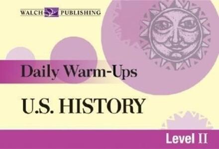 Daily Warm-Ups for U.S. History als Taschenbuch