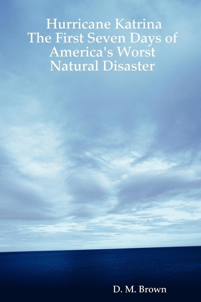Hurricane Katrina als Taschenbuch