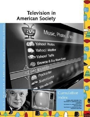 Television in American Society Reference Library Cumulative Index als Taschenbuch