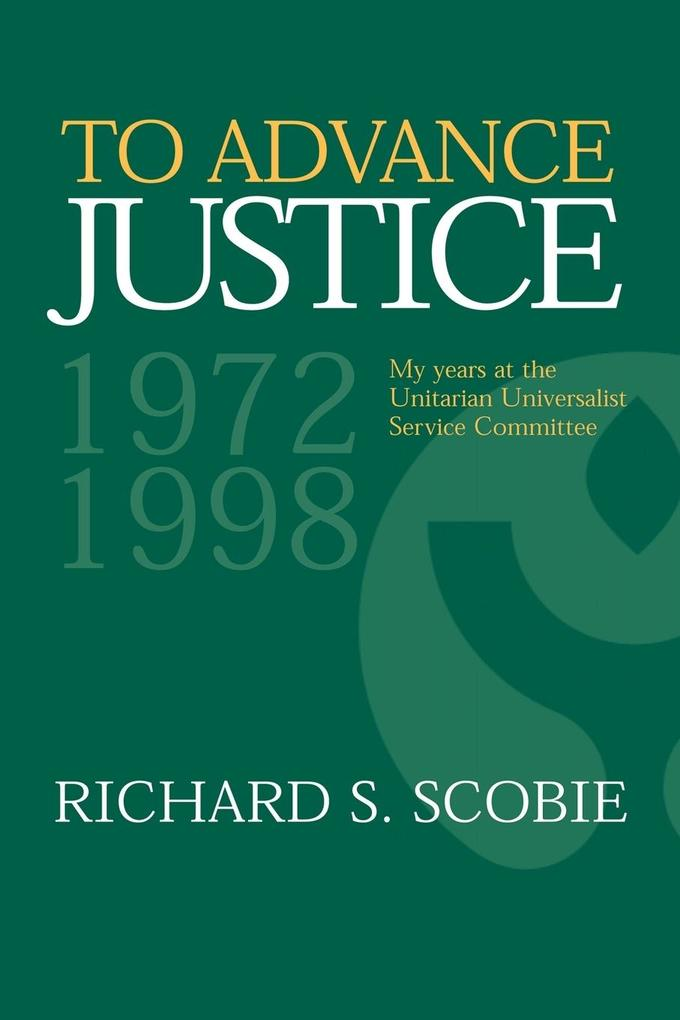 To Advance Justice als Buch