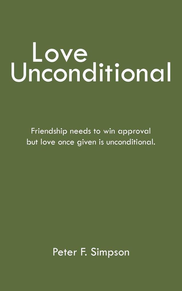 Love Unconditional als Taschenbuch