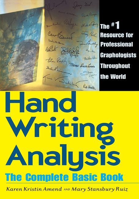 Handwriting Analysis: The Complete Basic Book als Taschenbuch