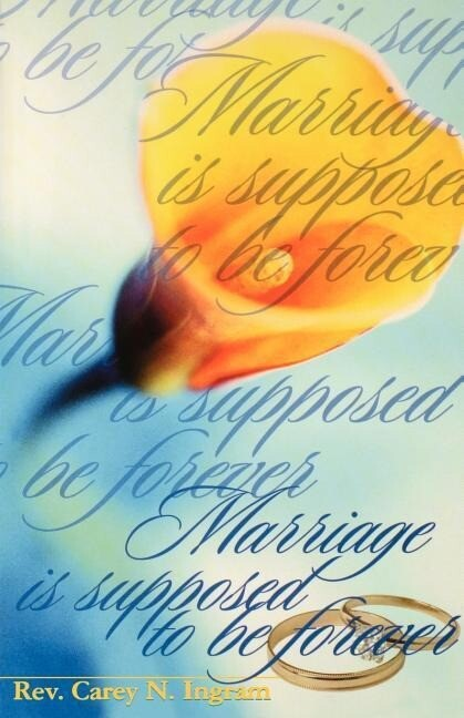 Marriage Is Supposed to Be Forever als Taschenbuch