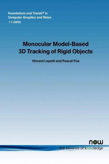 Monocular Model-Based 3D Tracking of Rigid Objects als Taschenbuch