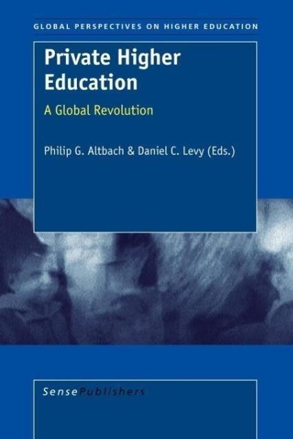 Private Higher Education als Taschenbuch