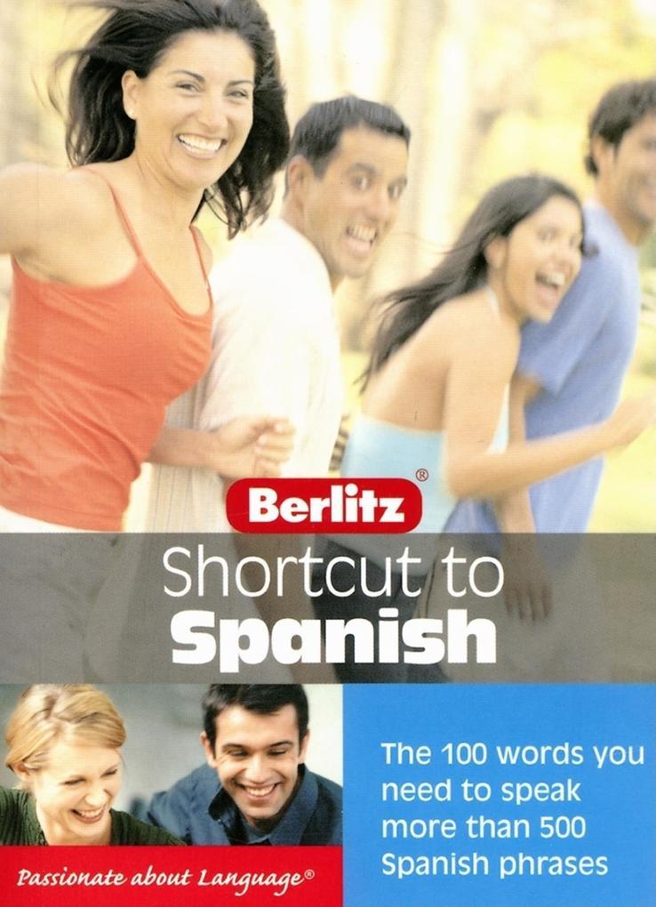 Berlitz Shortcut to Spanish als Taschenbuch