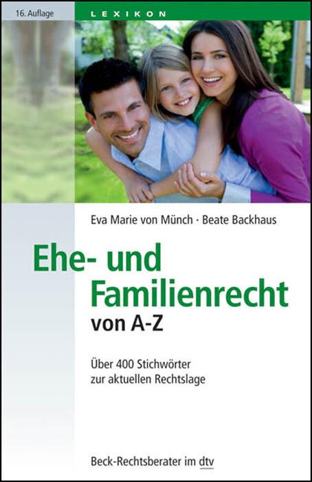 Ehe- und Familienrecht von A-Z als Taschenbuch