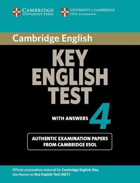 Cambridge Key English Test 4 Student's Book with Answers als Taschenbuch