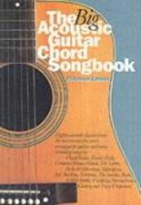 The Big Acoustic Guitar Chord Songbook (Platinum Edition) als Buch
