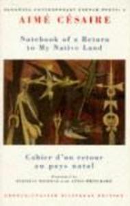 Notebook of a Return to My Native Land als Taschenbuch