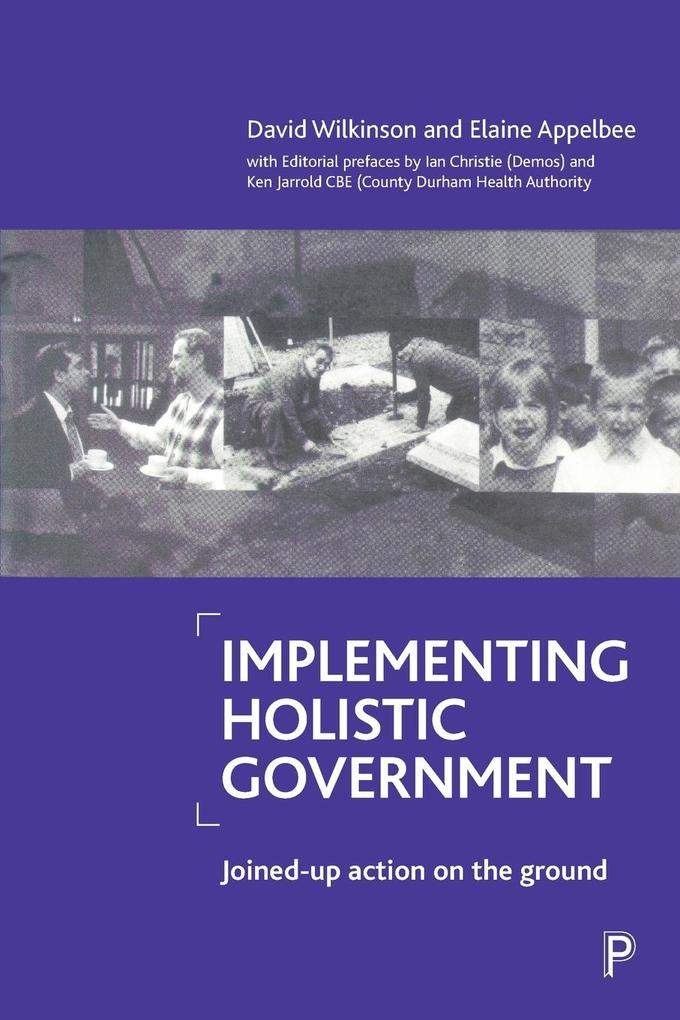 Implementing holistic government als Taschenbuch
