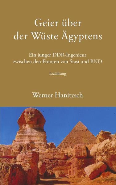 Geier über der Wüste Ägyptens als Buch
