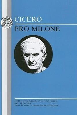 Cicero: Pro Milone als Taschenbuch