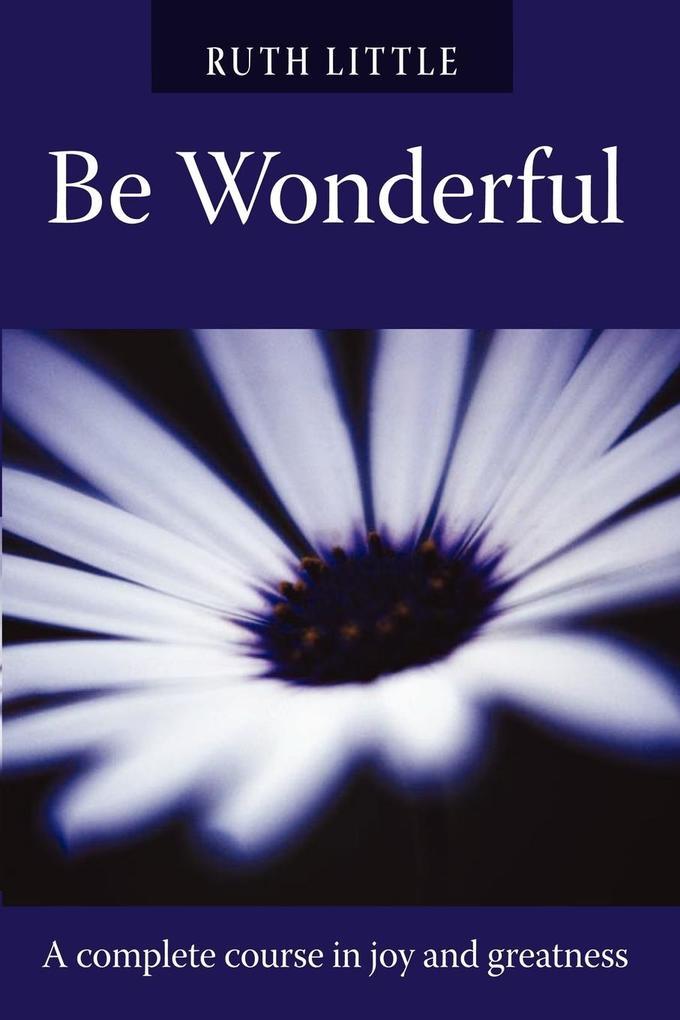 Be Wonderful als Taschenbuch