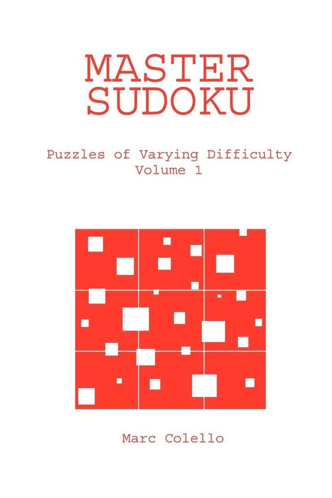 Master Sudoku als Taschenbuch