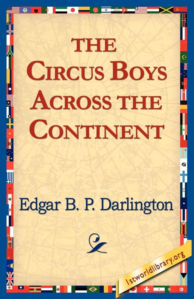 The Circus Boys Across the Continent als Taschenbuch