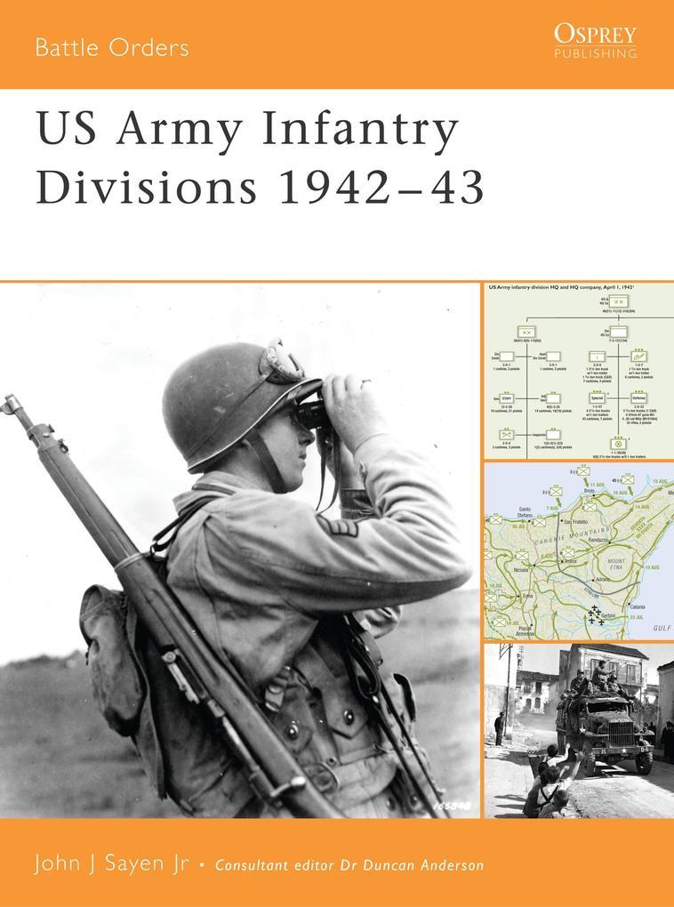 US Army Infantry Divisions 1942-1943 als Taschenbuch