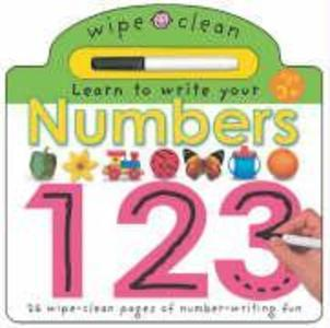 Wipe Clean - Numbers als Buch