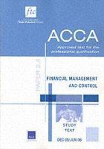 Financial Management and Control als Taschenbuch