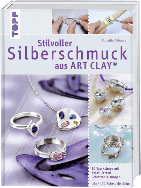 Stilvoller Silberschmuck aus Art Clay als Buch
