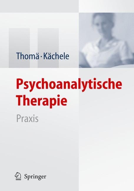 Psychoanalytische Therapie als Buch