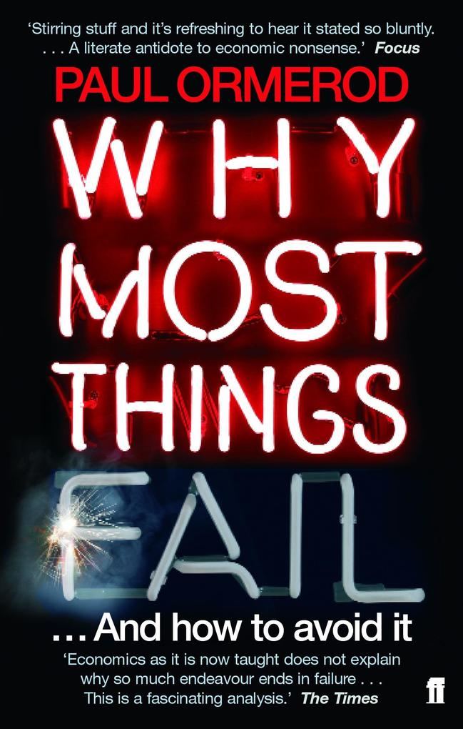Why Most Things Fail als Taschenbuch