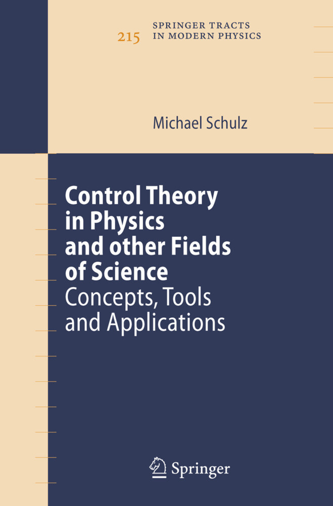 Control Theory in Physics and other Fields of Science als Buch