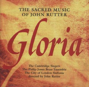Rutter Gloria, 1 Audio-CD als CD