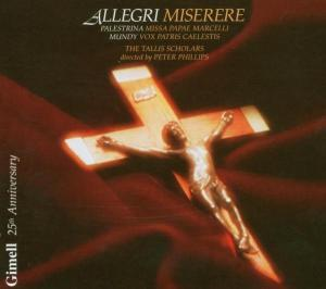 Miserere/Vox Patris Caelestis/+ als CD