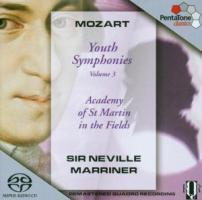 Jugendsinfonien 8,9,19+Vol.3 als CD