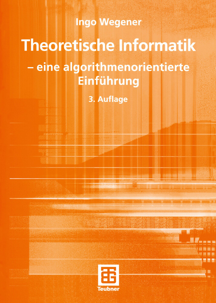 Theoretische Informatik als Buch