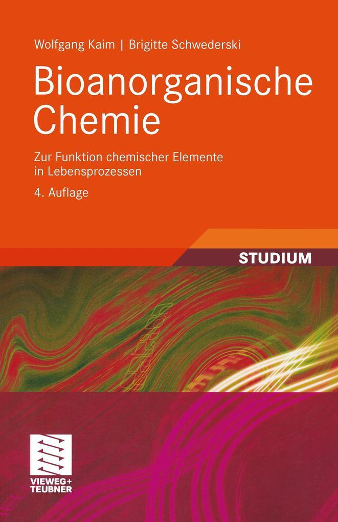 Bioanorganische Chemie als Buch