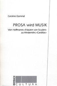 Prosa wird Musik als Buch