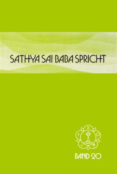 Sathya Sai Baba spricht 20 als Buch