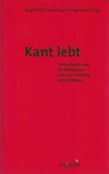 Kant lebt als Buch