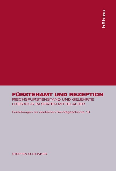 Fürstenamt und Rezeption als Buch