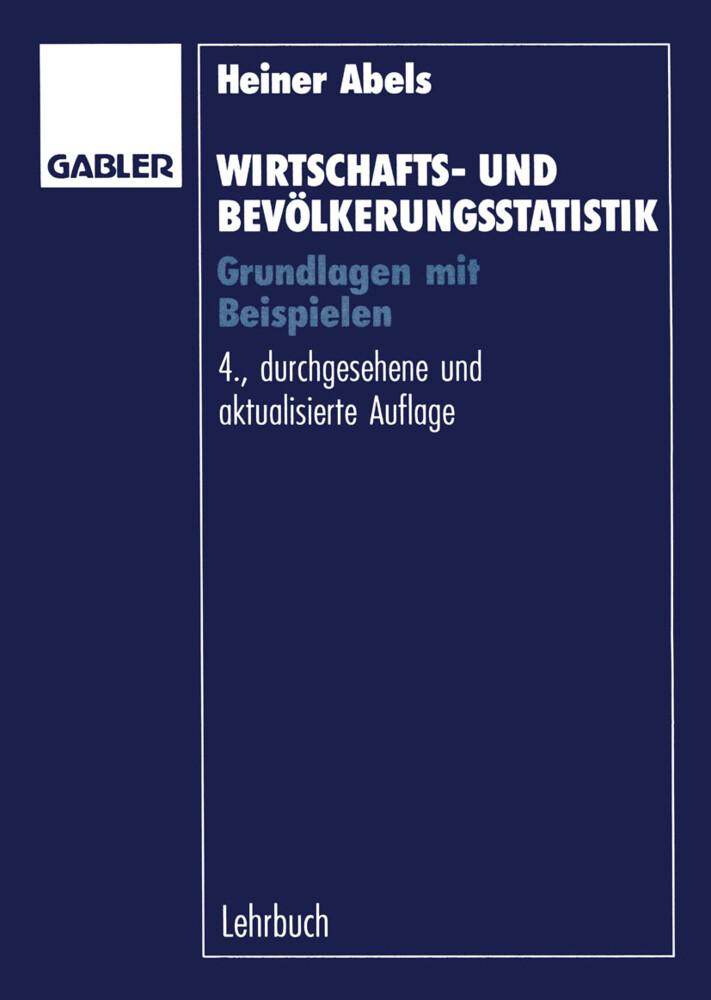 Wirtschafts- und Bevölkerungsstatistik als Buch