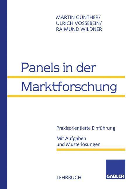 Panels in der Marktforschung als Buch