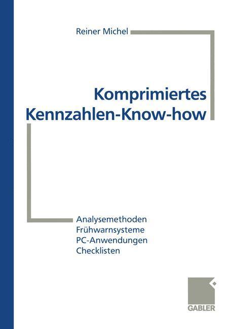 Komprimiertes Kennzahlen-Know-how als Buch