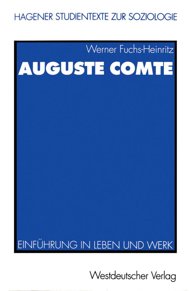 Auguste Comte als Buch