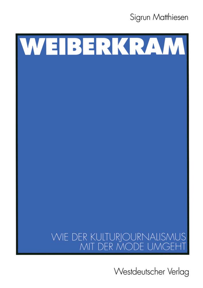 Weiberkram als Buch