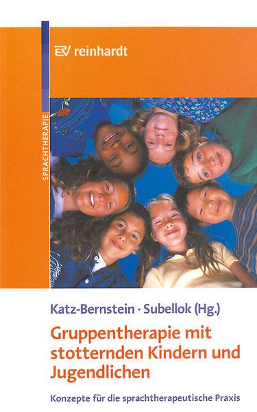 Gruppentherapie mit stotternden Kindern und Jugendlichen als Buch