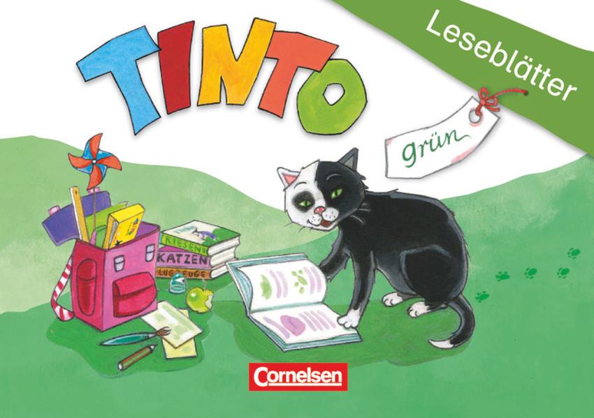 TINTO 1 und 2 - Grüne Ausgabe. 1. Schuljahr. Leseblätter als Blätter und Karten