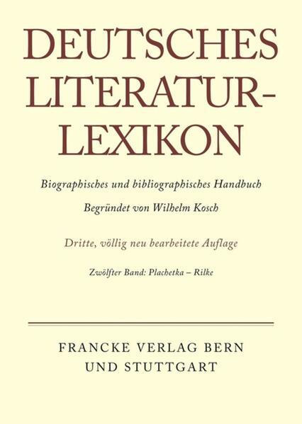 Plachetka - Rilke als Buch