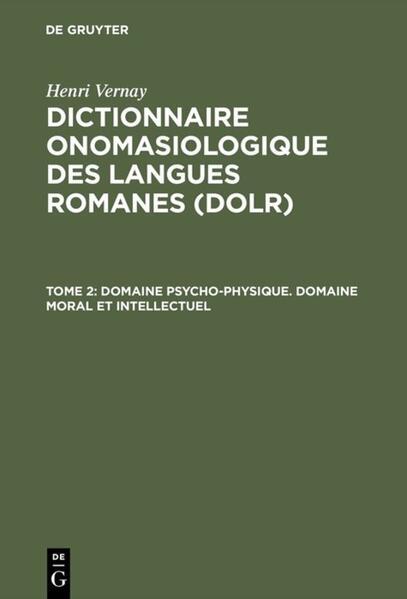 Domaine psycho-physique. Domaine moral et intellectuel als Buch