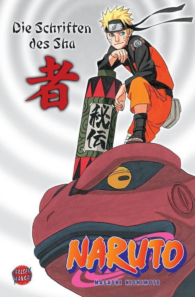 Naruto: Die Schriften des Sha als Buch