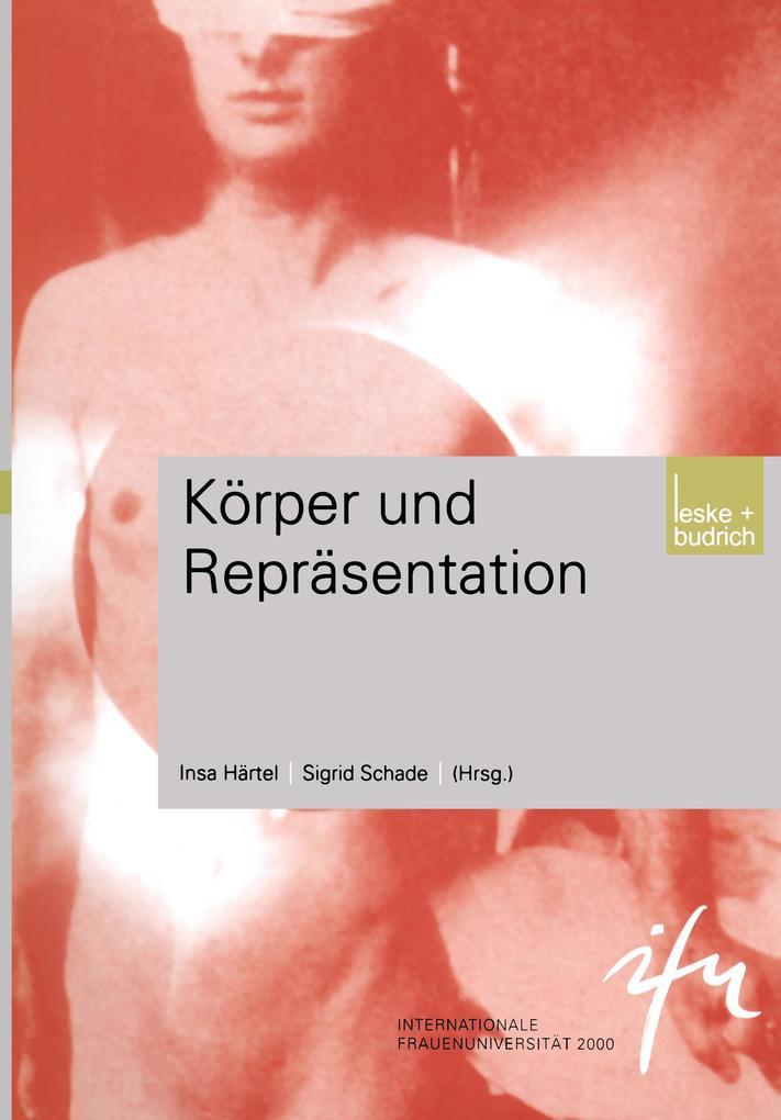 Körper und Repräsentation als Buch